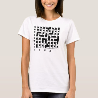 CROSSWORD ADDICT Funny T-Shirt