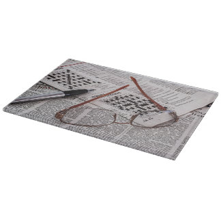 Crossword Genius Cutting Board