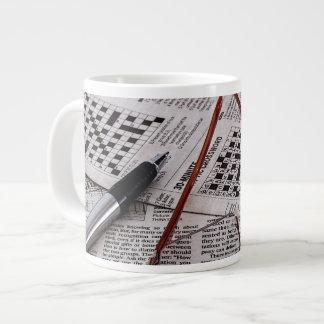 Crossword Genius 20 Oz Large Ceramic Coffee Mug