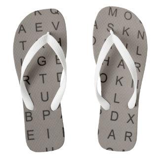 Crossword lover thongs