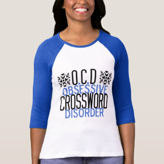 Crossword Obsessed T-Shirt