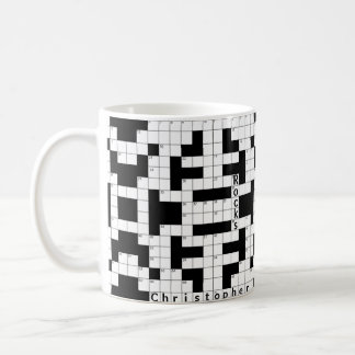 Crossword Puzzle Custom Mug