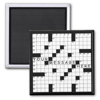 Crossword Puzzle Magnet