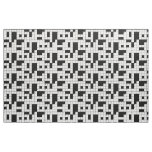 Crossword Puzzle Pattern Fabric