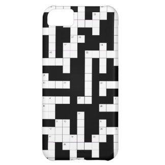 Crossword puzzle phone case - fill in the blanks