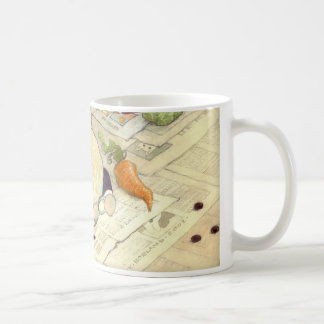crossword rabbits coffee mug