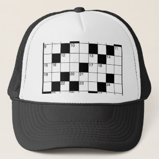 Crosswords Trucker Hat