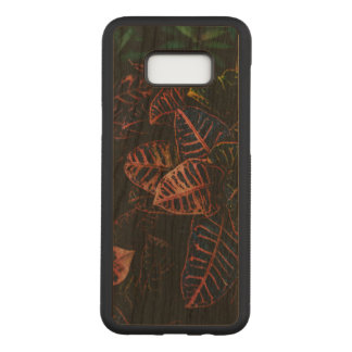 Croton Samsung Galaxy S8+ Slim Cherry Wood Case