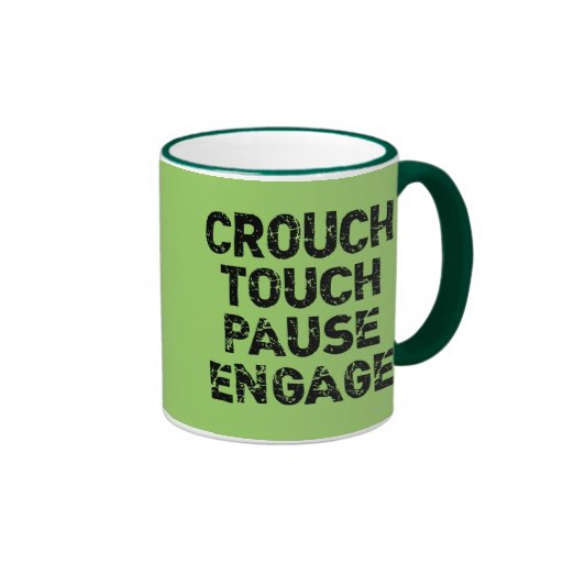 Crouch Touch Pause Engage Rugby Tees Mug
