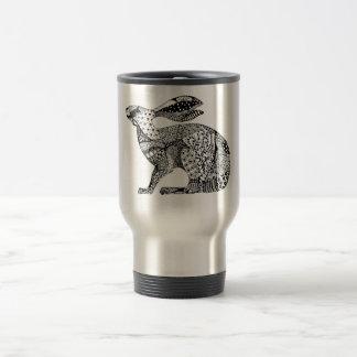Crouching Hare Travel Mug