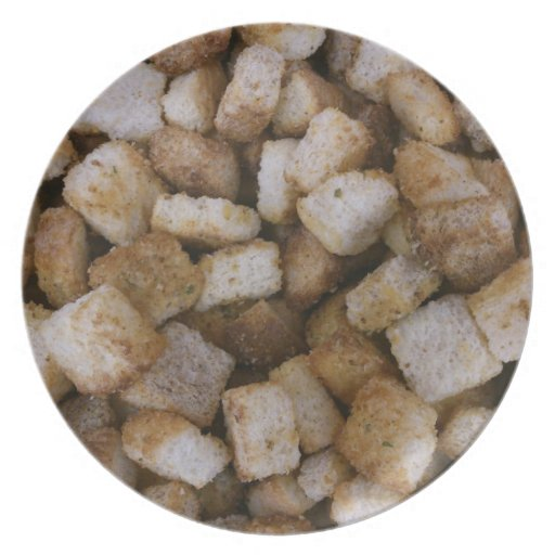 Croutons Plate