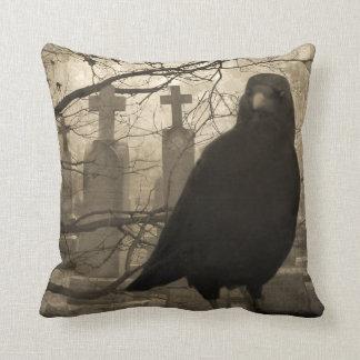 Crow and Crosses Cushion