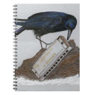 Crow and Harmonica Notebooks