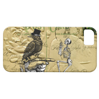 Crow and skeleton case for the iPhone 5