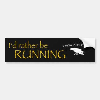 Crow Athletics Bumper Sticker