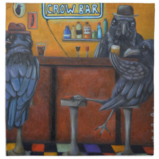 Crow Bar Napkin