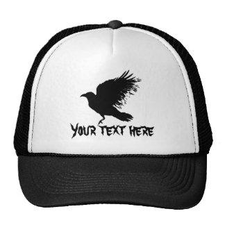 Crow - black cap