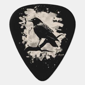 Crow bleached look plectrum