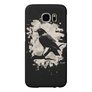 Crow bleached look samsung galaxy s6 cases