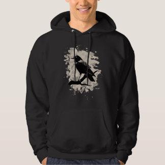 Crow bleached look sweatshirt