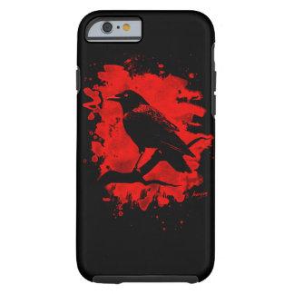 Crow bleached talk tough iPhone 6 case