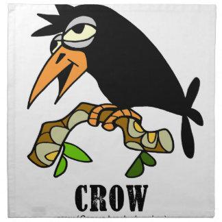 Crow by Lorenzo © 2018 Lorenzo Traverso Napkin