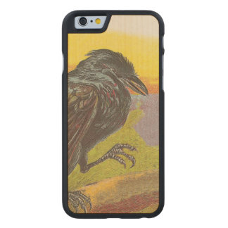 Crow Carved® Maple iPhone 6 Case