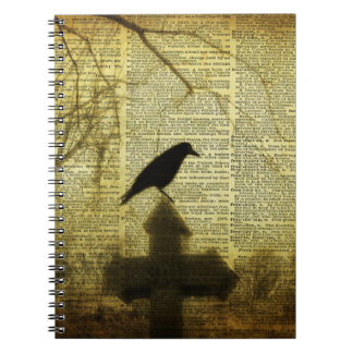 Crow Collage Notebook