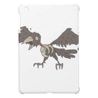 Crow Creepy Zombie With Rotting Flesh Outlined Case For The iPad Mini