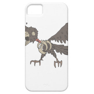 Crow Creepy Zombie With Rotting Flesh Outlined iPhone 5 Cases