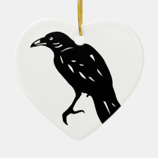 CROW crow crow crow goods cutting picture Christmas Tree Ornaments