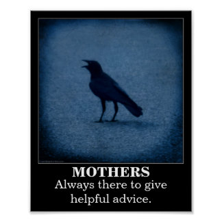 Crow demotivational poster