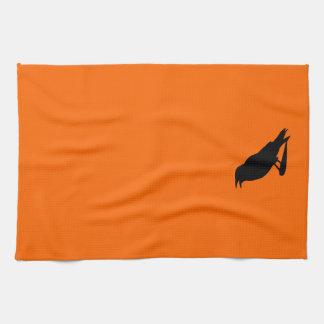 crow Dishtowels Tea Towel