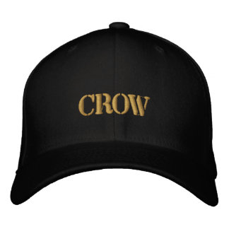 CROW EMBROIDERED HAT