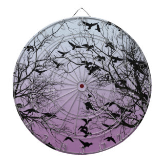Crow flock dartboard