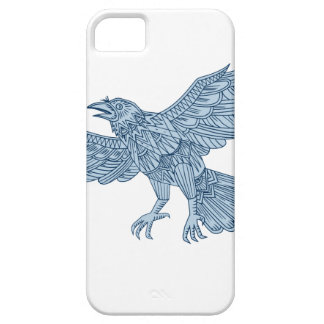Crow Flying Mandala Case For The iPhone 5