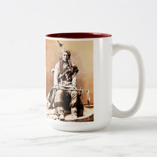 Crow indian, 1880 Two-Tone coffee mug