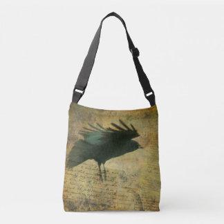 Crow Lover's Accessory Crossbody Bag