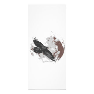Crow Moon Personalized Rack Card