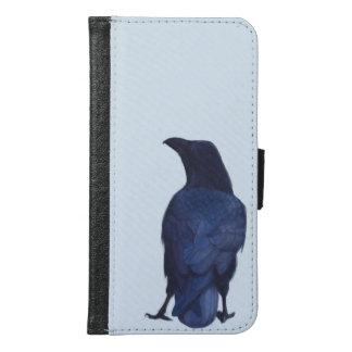 Crow Samsung Galaxy S6 Wallet Case