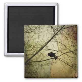 Crow Speak Magnet