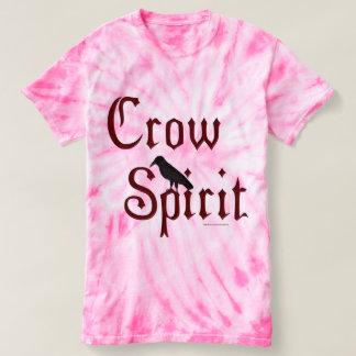 Crow Spirit Ladies Tie-Dye T-Shirt