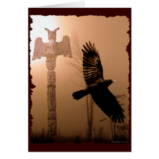 CROW SPIRIT Native American-themed Card Collection