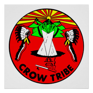 Crow Tribe Poster