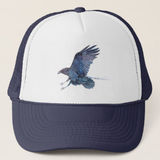 Crow Trucker Hat