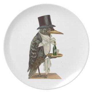 Crow Waiter Plate