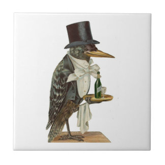 Crow Waiter Tile