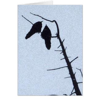 Crow Watch Card