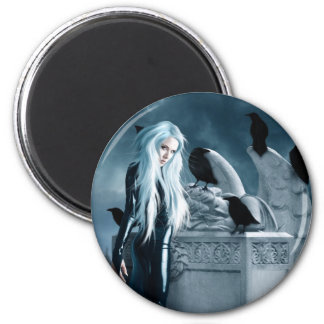 Crow Witch Magnet