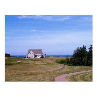Crowbush Resort Clubhouse Prince Edward Island Postcard